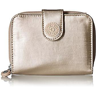 Kipling Women's New Money Gm, Sparkly Gold, One, Sparkly Gold, Size One Size