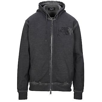 Dsquared2 Cool Fit Milano Logo Grey Hoodie