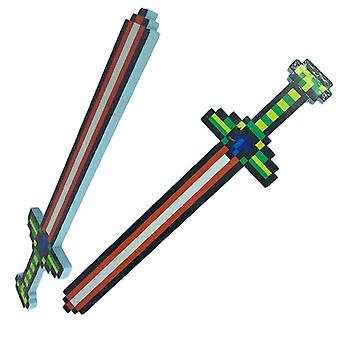 1pc Minecrafted Sword Light Sound Of My Small World For- Jeu en plein air Free Drop