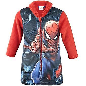 Jongens HS2055 Marvel Spiderman koraal fleece Kamerjas