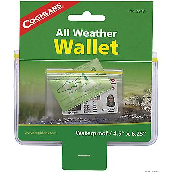 Coghlan's All-Weather Wallet, Waterproof Protection with Zip Lock Closure