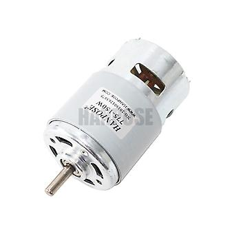 795 Dc Electric Spindle Motor For Drill 12 24v 80w/150w/288w Brush Dc Motors- Rs 775 Lawn Mower Motor With Two Ball Bearing Rated
