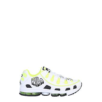 Msgm 2740ms0125f29806 Mænd's Hvide Læder Sneakers