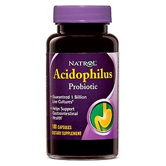 Natrol Acidophilus, 100 MG, 100 Caps