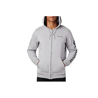 Columbia Logo Fleece FZ Hoodie 1889161039 universal ganzjährig Männer Sweatshirts