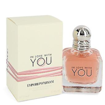 In Love With You Eau De Parfum Spray By Giorgio Armani 1.7 oz Eau De Parfum Spray