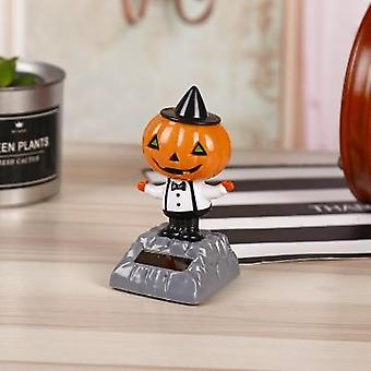 Funny Multi Style Solar Powered Christmas Halloween Dancing Pumpkin Zombie Car