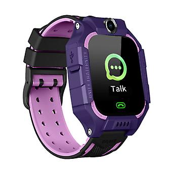 Lemfo Q19 Smartwatch for Kids with GPS Tracker Smartband Smartphone Watch IPS iOS Android Purple