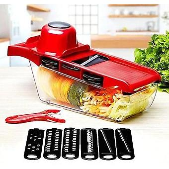 Stainless Steel 6 Blades Vegetable Slicer
