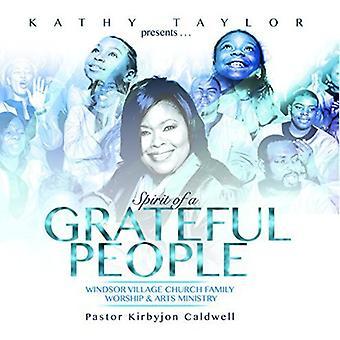 Kathy Taylor - Spirit of a Grateful People [CD] USA import