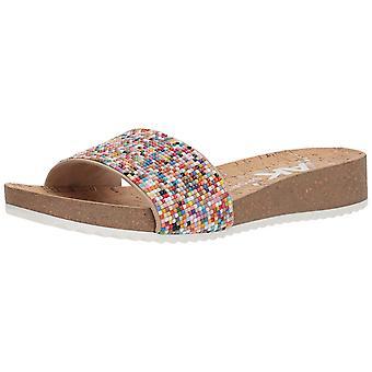 Anne Klein kvinnors Qtee Slide Sandal