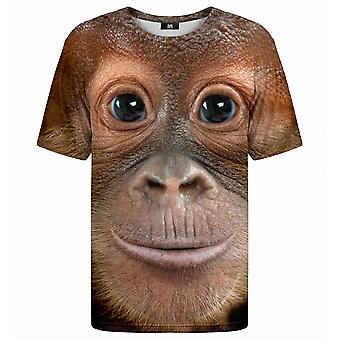 Herr Gugu Miss Go Monkey Gesicht T-shirt