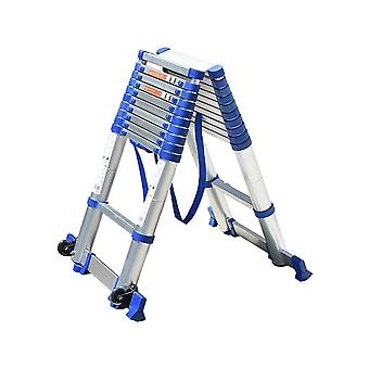 High-quality Thickening Aluminium Alloy Herringbone Ladder Portable Household