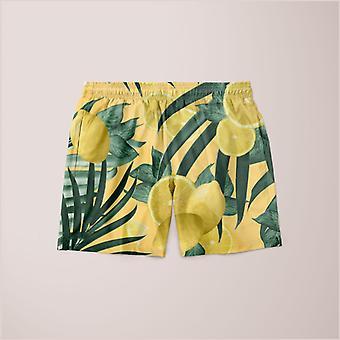 Summer lemon twist jungle shorts