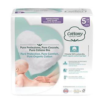 Junior diapers 24 units