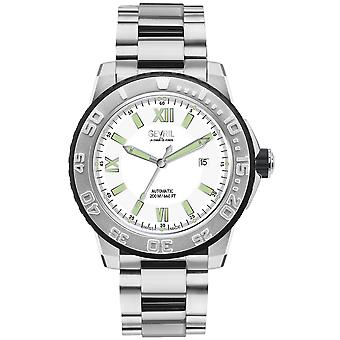Gevril Men'seacloud Silver Dial Inoxidless Steel Watch
