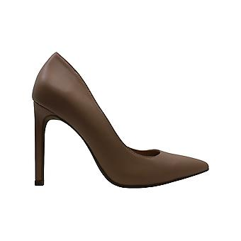 Alfani Womens Leizlee Leather Pointed Toe Classic Pumps
