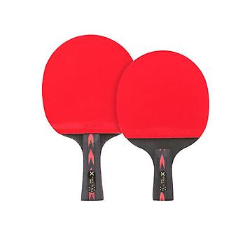 Ping Pong Paddle Set Table Tennis Paddle Set With Retractable Net  Portable Case And 3 Star