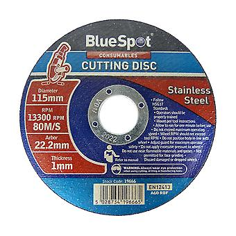"Bluespot 4.5"" 115mm ultra thin metal cutting discs"