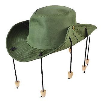 Bristol novità bh657 aussie outback cappello con tappi, unisex-adulto, taglia unica