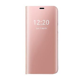 Samsung Galaxy S8 Plus Clear View Folio -kotelo - Vaaleanpunainen