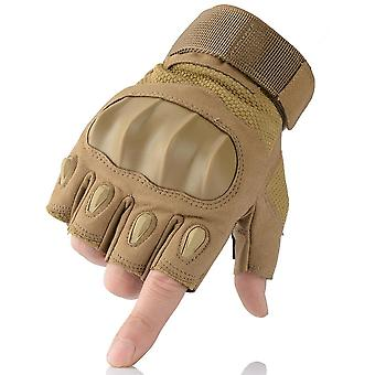 Touch Screen Hard Knuckle Tactical Gloves, Outdoor Shooting Full Finger Gloves