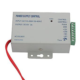 Ac 110-240v In To Dc 12v 3a Power Supply For Door Access Control