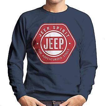 Jeep Spirit For Adventurous Souls Men's Sweatshirt