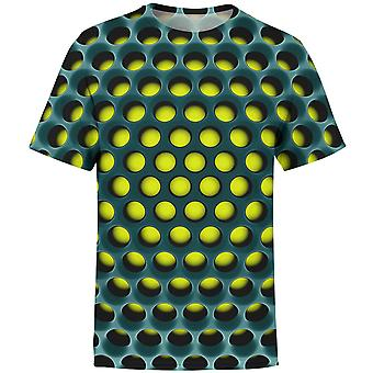 Summer Print 3d T-shirt, Men Cube Cube Tees Topuri