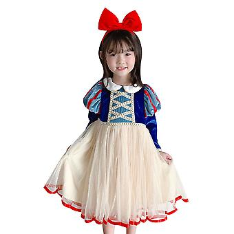 Blanche-Neige Dress Up Costume Girl Halloween Carnival Cosplay