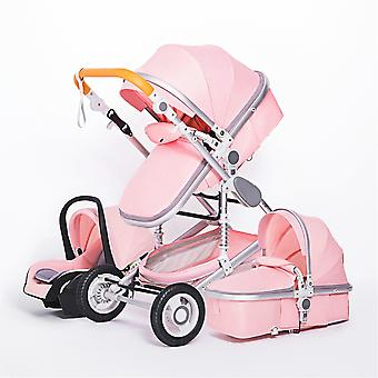 Baby Stroller, Portable, Travel Carriage Folding Prams, Aluminum Frame,