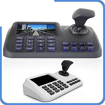 Teclado do controlador joystick com tela lcd de 5