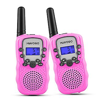 Miavogo kids toys walkie talkies - pmr446 8 kanaals 3km lange afstand 2 weg radio walkie talkie voor kid wof47017
