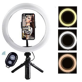 Prenosný ovládač Selfie Ringlight Nastaviteľný statív Remote
