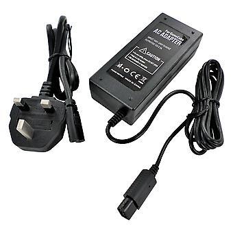 Zasilacz do gamecube konsoli nintendo adapter prowadzić uk plug dol-002 wymiana | zedlabz ( zedlabz )