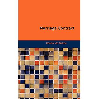 Marriage Contract by Honore De Balzac - 9781426404870 Book
