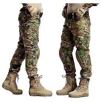Militaire tactische broek leger militaire uniform broek-met kniebeschermers