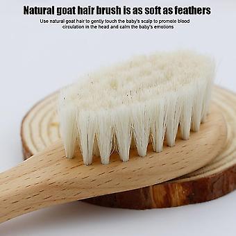 Natural Soft Newborn Baby Brush Set