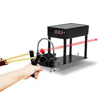 Monitoiminen ammunta nopeusmittarin pallon nopeusenergian mittaustestaaja
