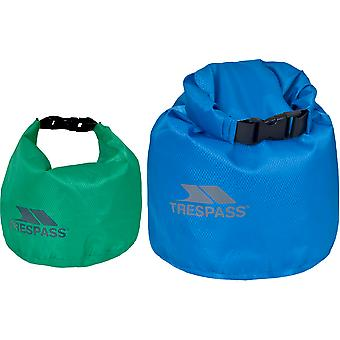 Trespass Exhilaration Waterdicht Duurzaam 2 Pack Dry Bag Set