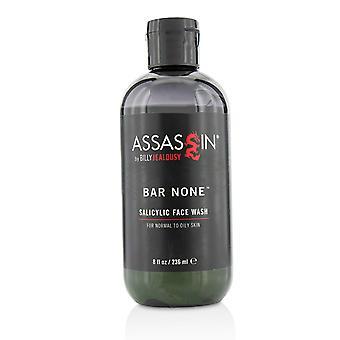 Assassin bar none salicylic face wash 215874 236ml/8oz