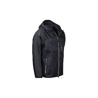 リプレイナイロンフードブラックジャケット