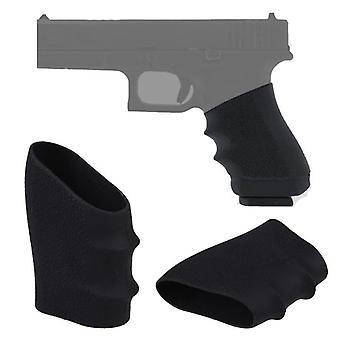 Manga de aderência de borracha para Glock, S&w, Sigma, Sig Sauer, Ruger, Colt, Beretta