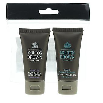 Molton Brown Body Wash 30ml & Body Lotion 30ml Gift Set