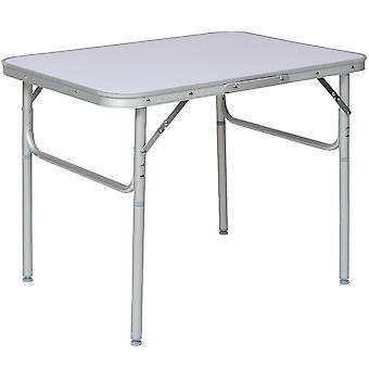 tectake Campingbord i Aluminium foldbar - grå