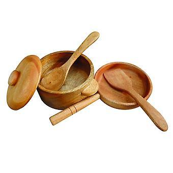 Qtoys Australia (usa) Mahogany Pan & Pot Set