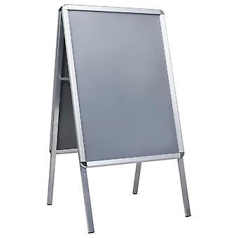 vidaXL A1 Kunde Prop Plakat Stand Aluminium