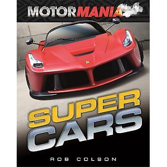 Motormania Supercars-tekijä Rob Colson