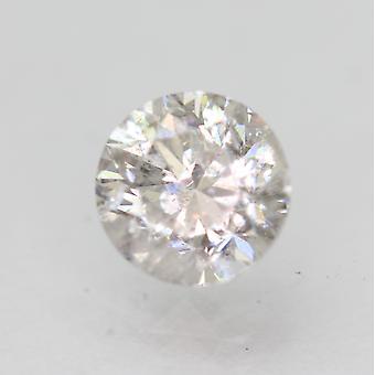 Sertifioitu 1,15 karat H SI2 pyöreä brilliant parannettu luonnollinen löysä timantti 6,31mm