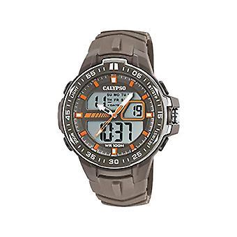 Calypso Watches Analog-Digital Watch Quartz Man with Plastic Strap K5766/3